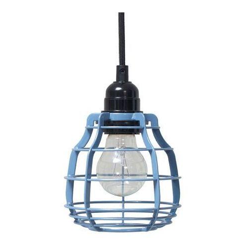 :: lampa lab niebieska z włącznikiem - niebieski marki Hk living