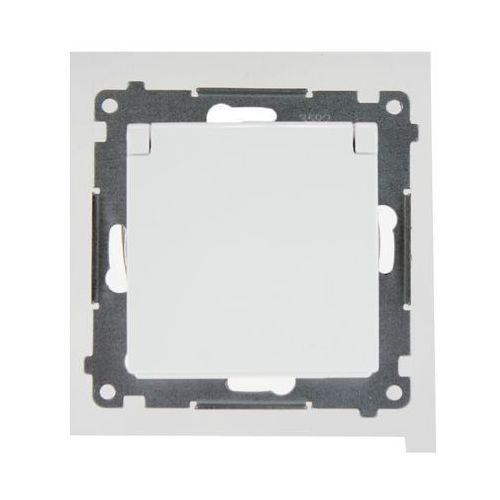 Gniazdo 2p+z ip44 białe (klapka+uszczelka) dgz1bz.01/11 simon54 marki Kontakt - simon