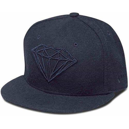 Diamond Czapka z daszkiem  - brilliant fitted navy (nvy) rozmiar: 7