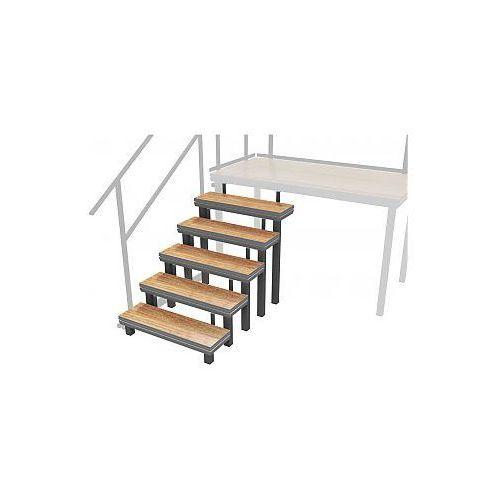 2m SPZP 018 - Modular Platform Stairs (up to 1.2 m height of stage platform), schody do podestów scenicznych, kup u jednego z partnerów