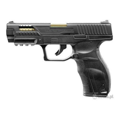 Pistolet Umarex SA9 OE metalowy zamek z celownikiem 4,5 mm Co2