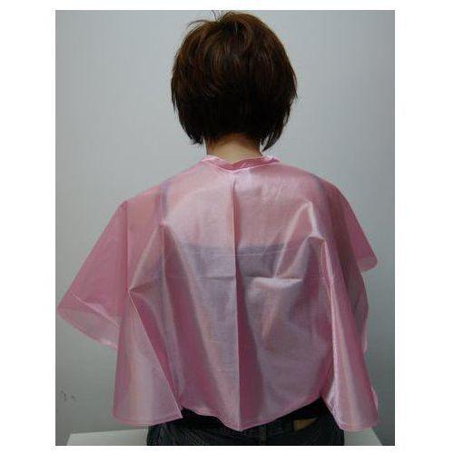 Pelerynka fryzjerska lofty krótka - różowa marki Prospector