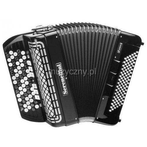 373 cr 37(67)/3/7 96/4(f/n-2)/3 akordeon guzikowy z konwertorem (czarny) marki Serenellini