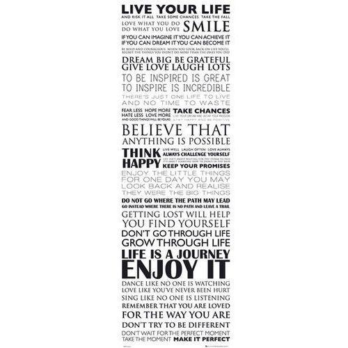 Żyj własnym życiem - live your life - plakat motywacyjny od producenta Gb