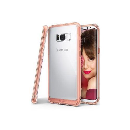 Samsung galaxy s8 - etui na telefon fusion - różowy marki Ringke
