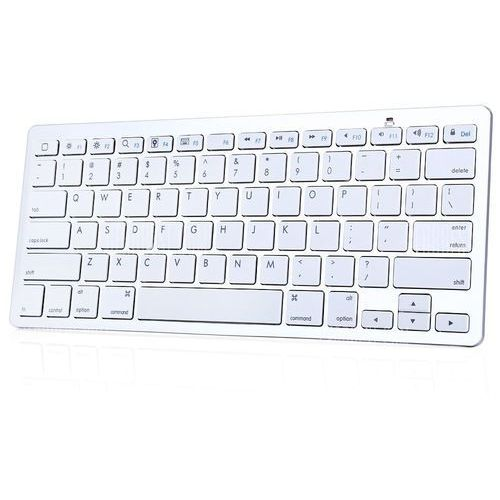 Bk3001ba bluetooth wireless english keyboard aluminum alloy / abs computer peripheral od producenta Gearbest