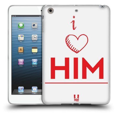 Etui silikonowe na tablet - his plus her i love him wyprodukowany przez Head case