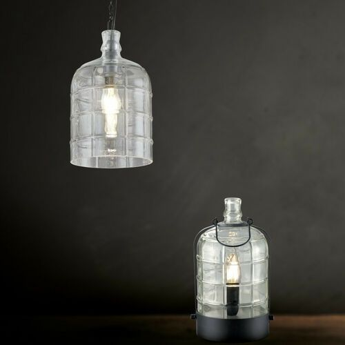 Trio astrid lampa wisząca czarny, 1-punktowy - vintage/przemysłowy/skandynawski - obszar wewnętrzny - astrid - czas dostawy: od 3-6 dni roboczych