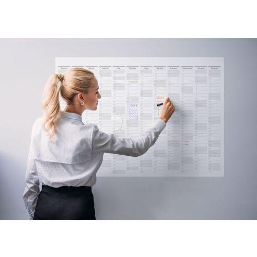 Planer na ścianę 2019 papierowy suchościeralny B0 SC