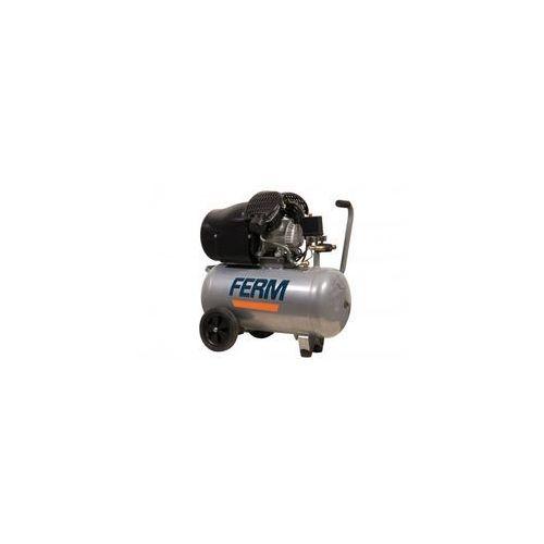 Kompresor olejowy dwucylindrowy 3km - 2200w - 50l marki Ferm