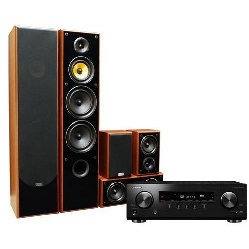 Pioneer Kino domowe vsx-534db + taga tav606 orzech