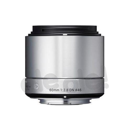 Sigma  a 60mm f/2.8 dn srebrny sony e - produkt w magazynie - szybka wysyłka! (0085126929787)