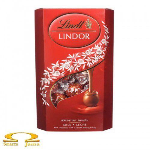 Lindt Czekoladki lindor milk cornet 337g (8003340091464)