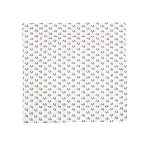 Alvi mata do raczkowania bellybutton special edition elephants white 100 x 135 cm (4010395733984)