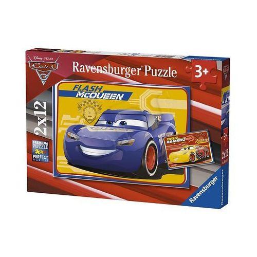Tm toys Puzzle cars 3 2x12 el. 4005556076147 - odbiór w 2000 punktach - salony, paczkomaty, stacje orlen