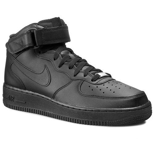 Buty - air force 1 mid '07 315123 001 black marki Nike