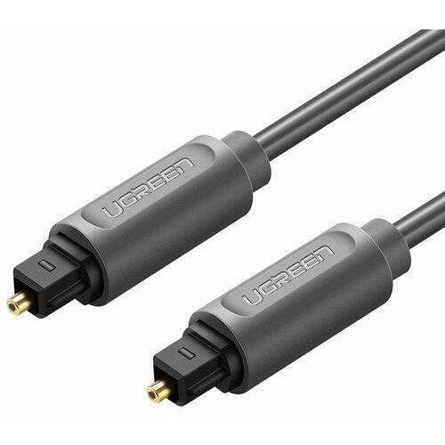 Ugreen optyczny kabel przewód audio 1 m cyfrowy światłowód toslink spdif szary (10768) (6957303817689)