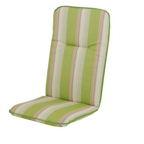 Doppler Bonn poduszka na krzesło biały/zielony (9003034131307)