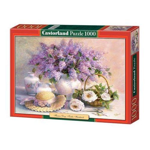 Puzzle 1000 Kwiaty i kapelusz CASTOR (5904438102006)