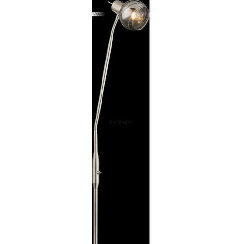 Globo lighting Globo roman lampa stojąca led nikiel matowy, 1-punktowy - nowoczesny/design - obszar wewnętrzny - roman - czas dostawy: od 6-10 dni roboczych