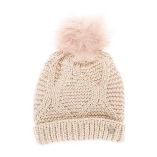 Guess czapka zimowa beżowy l (7613359750811)