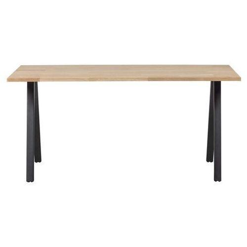 stół tablo dębowy [fsc] 180x90 noga kwadratowa 376015-n marki Woood
