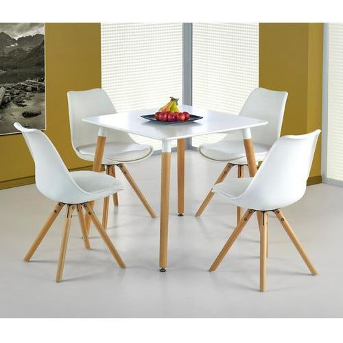 Designerski stół socrates kwadratowy marki Halmar