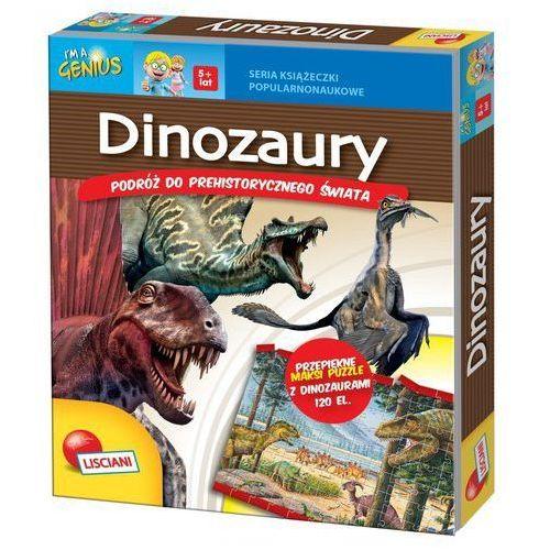 Lisciani Dinozaury podróż do prehistorycznego świata + puzzle -.