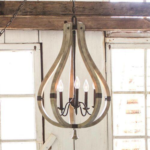 Lampa wisząca MIDDLEFIELD HK/MIDDLEFIELD5 - Elstead Lighting - Rabat w koszyku (5024005345503)