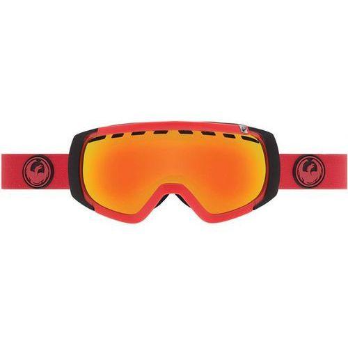 gogle snowboardowe DRAGON - ROGUE - Bitter / Yellow Red Ion (428) rozmiar: OS