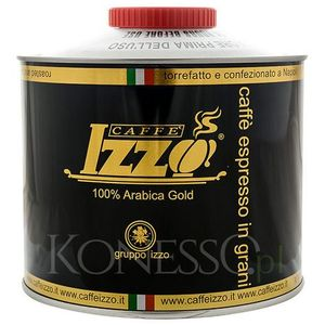 KAWA WŁOSKA IZZO CAFFE 100% Arabica Gold 1kg ziarnista