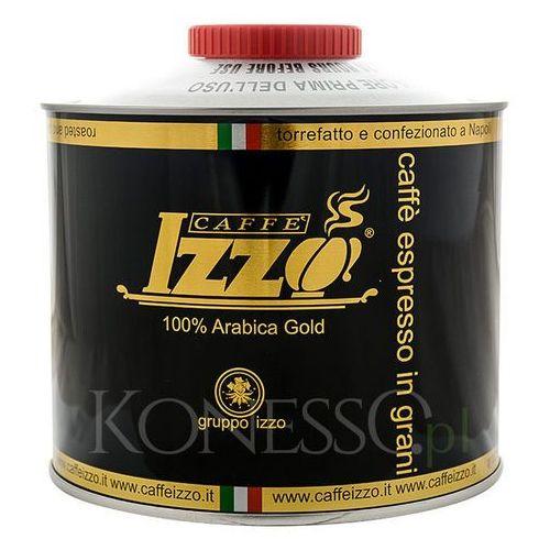 KAWA WŁOSKA IZZO CAFFE 100% Arabica Gold 1kg ziarnista (8019925000066)