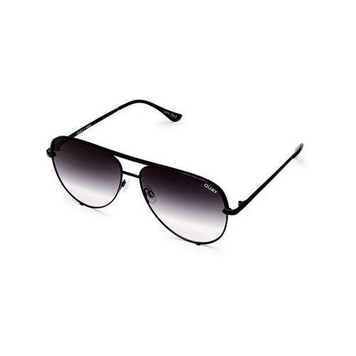 Quay australia Okulary słoneczne qc-000268 high key mini blk/fade