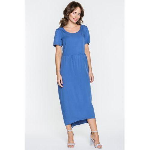 Metafora Długa sukienka niebieska -