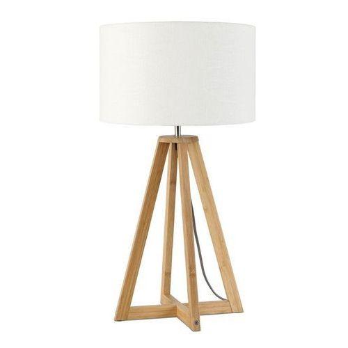 EVEREST-Lampa stojaca Bambus & Len Naturalny Wys.34cm (8716248074735)