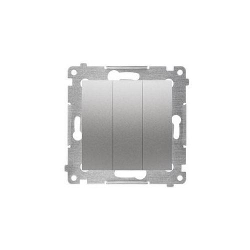 Włącznik potrójny simon 54 srebrny marki Kontakt simon