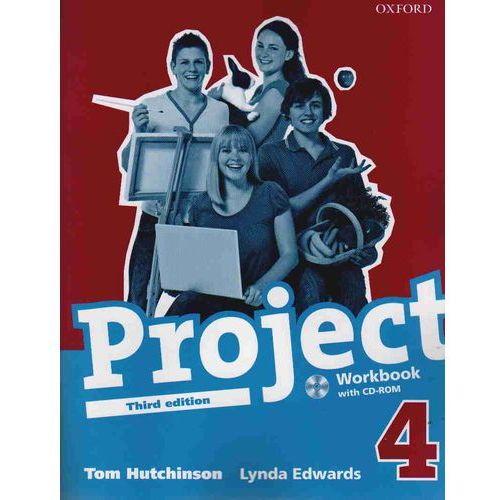 Project. Zeszyt ćwiczeń z płytą CD-ROM. Część 4. Nowe wydanie, oprawa miękka. Najniższe ceny, najlepsze promocje w sklepach, opinie.
