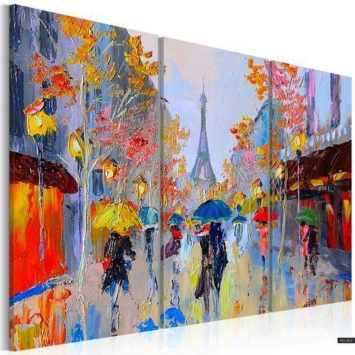 Selsey obraz malowany - deszczowy paryż (5903025406923)