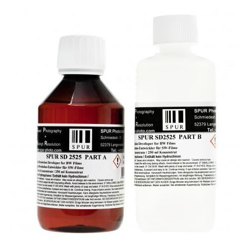 Paterson Spur - sd 2525 a 250 ml+b 250 ml wywoływacz do negatywów czarno-białych