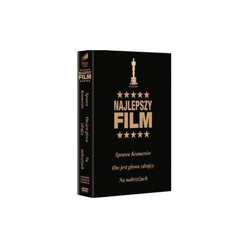 NAJLEPSZY FILM: SPRAWA KRAMERÓW, OTO JEST GŁOWA ZDRAJCY, NA NABRZEŻACH - DVD