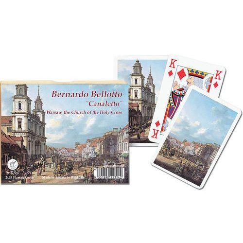 Karty do gry 2 talie, canaletto, kościół świętego krzyża marki Piatnik