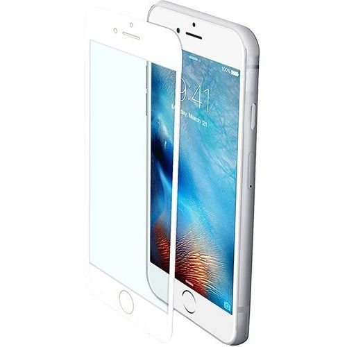 Szkło Hartowane CELLY Do Iphone 7 Biała Ramka GLASS800WH