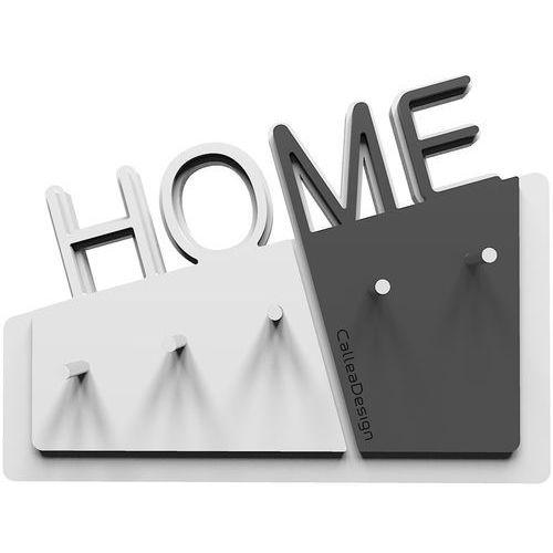 Wieszak na klucze Home CalleaDesign biały / szary (18-001-3)