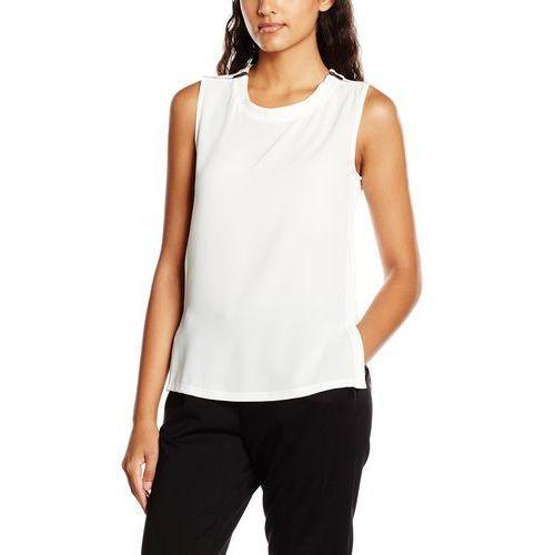 Top zip cold shoulder dla kobiet, kolor: beżowy, rozmiar: 46 (rozmiar producenta: 18) marki New look