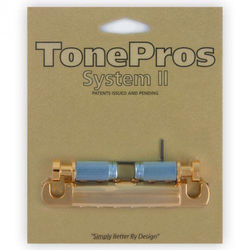 TonePros T1ZSA-G - Tailpiece, części mostka do gitary, złote