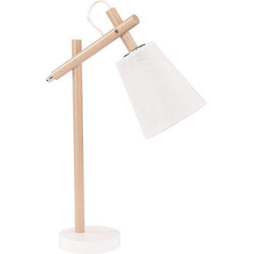 Lampa lampka oprawa stołowa nocna tk lighting vaio white 1x60w e27 biała 667 marki Tklighting
