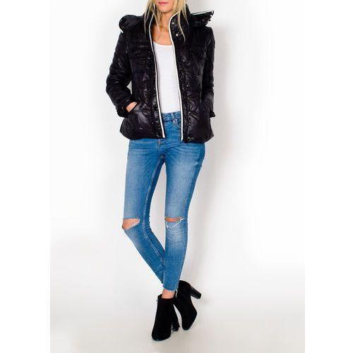 Pikowana zimowa kurtka z obszyciem marki Zoio