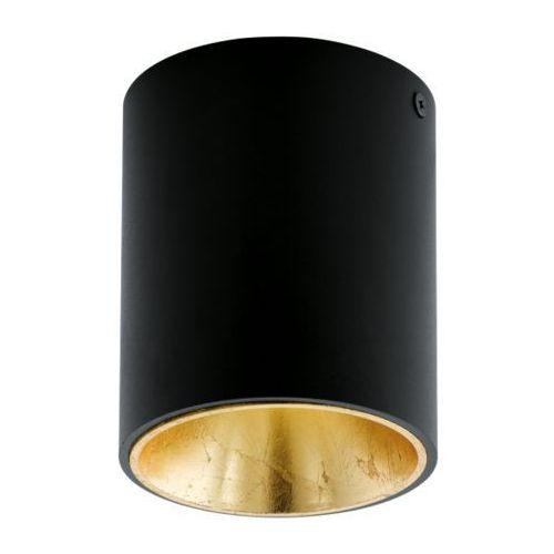 Eglo Lampa sufitowa polasso czarno/złota - okrągła, 94502