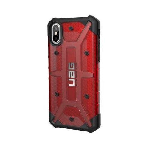 Urban armor gear Etui plasma case do iphone x czerwony/przezroczysty