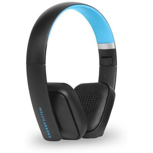 Energy Sistem słuchawki bezprzewodowe BT2 Bluetooth, czarny/niebieski - BEZPŁATNY ODBIÓR: WROCŁAW!